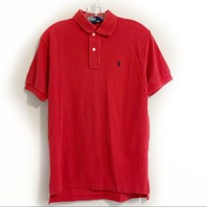 Polo by Ralph Lauren Logo Red Polo Shirt